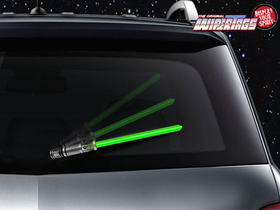 Light Saber Wipertag Covers Attach To Rear Wipers Blades