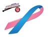 Pink and Blue Ribbon WiperTag