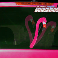 Pink Flamingo WiperTags