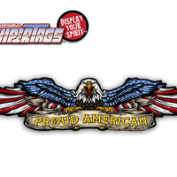 Proud American Eagle USA WiperTag
