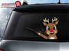 Red Nose Reindeer WiperTag with Decal