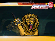 Clawing Roaring Lion WiperTag