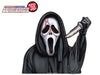 Screaming Bloody Mask with Knife WiperTags