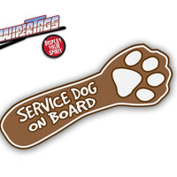 Service Dog on Board WiperTag