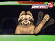 Chewy the Waving Sloth WiperTags