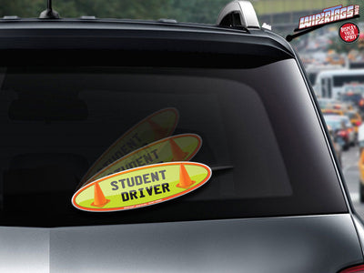 Student Driver Cones WiperTags