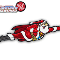 Flying Super Santa WiperTags