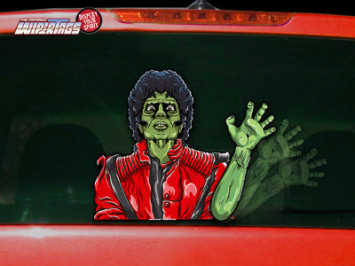Thriller Zombie Waving WiperTag