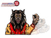 Thriller Werecat Waving WiperTag