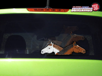 Two Horses WiperTags