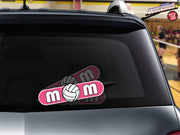 Volleyball Mom WiperTags