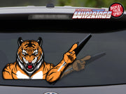 Tiger Mascot #1 WiperTag