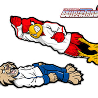 Cardinals vs Wildcats Wrestling WiperTags