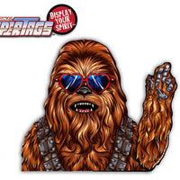 Wookie Love Waving WiperTag with Decal