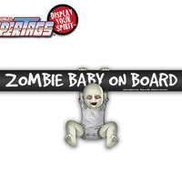 Zombie Baby on Board WiperTag