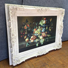 Still Life Fruit Painting w/ Victorian Frame (#6530) - The Things And Stuff - 2