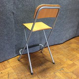 Modern Metal & Wood Stool Chair (#6620) - The Things And Stuff - 5