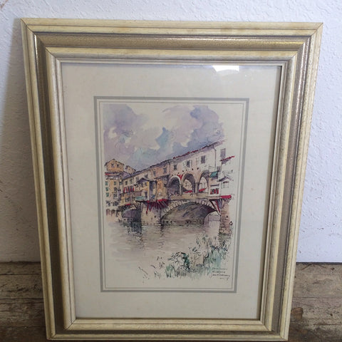 Framed Florence Print (#2523) - The Things And Stuff - 1