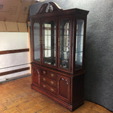 Thomasville Traditional Wood & Glass China/Display Cabinet (#6546) - The Things And Stuff - 4