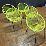 Kids Chairs - Yellow (#5882) - The Things And Stuff - 1