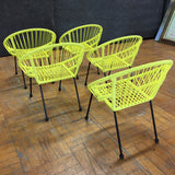 Kids Chairs - Yellow (#5882) - The Things And Stuff - 3