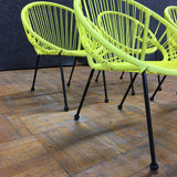 Kids Chairs - Yellow (#5882) - The Things And Stuff - 4