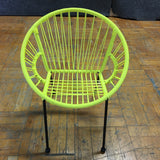 Kids Chairs - Yellow (#5882) - The Things And Stuff - 5