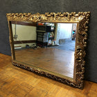 Ornate Golden Wall Mirror (#6961)