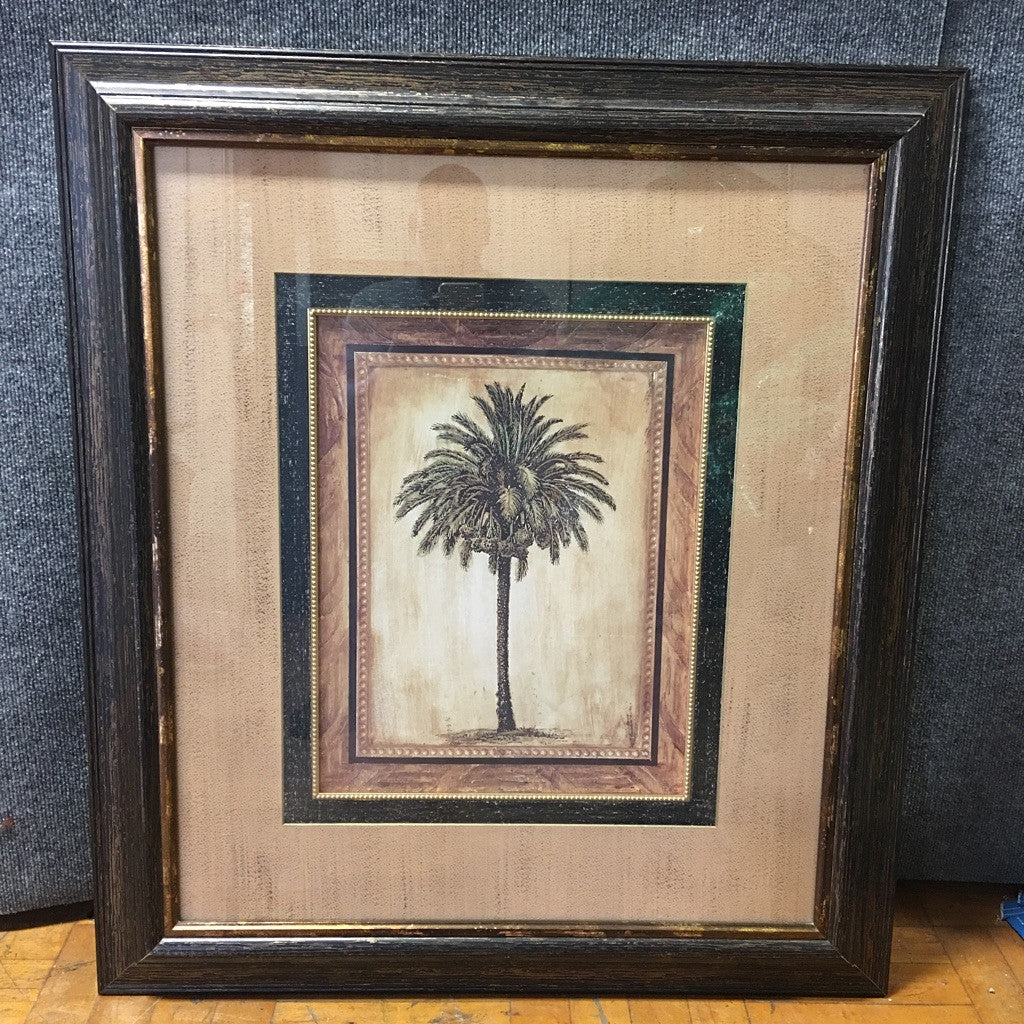 Framed Palm Tree (#6092) - The Things And Stuff - 3