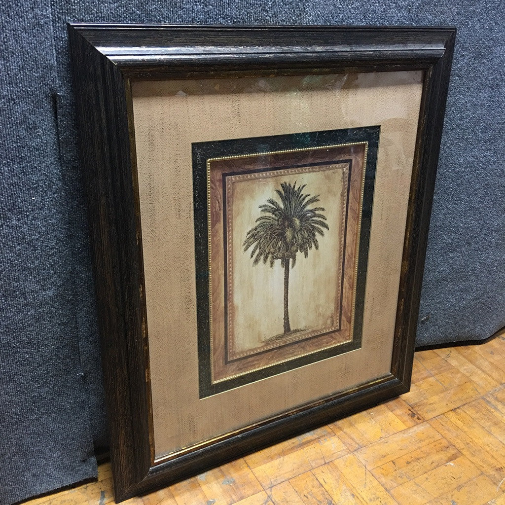 Framed Palm Tree (#6092) - The Things And Stuff - 1