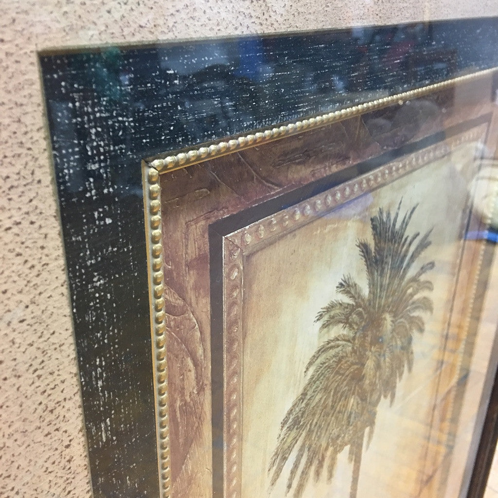 Framed Palm Tree (#6092) - The Things And Stuff - 5