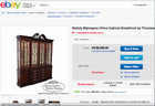 Thomasville Traditional Wood & Glass China/Display Cabinet (#6546) - The Things And Stuff - 2