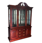 Thomasville Traditional Wood & Glass China/Display Cabinet (#6546) - The Things And Stuff - 13