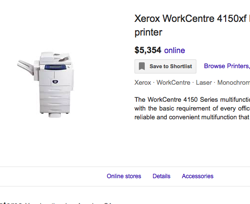 Xerox WorkCentre 4150 (#6645) - The Things And Stuff - 3