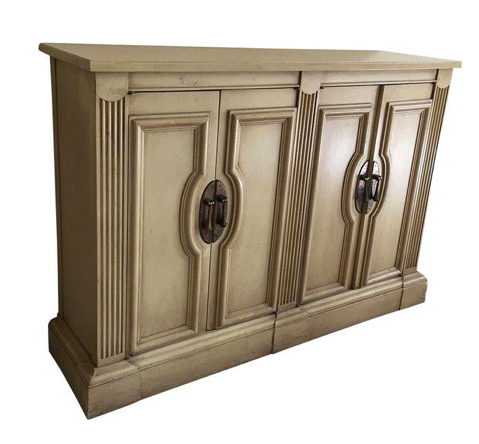 Beige Side Cabinet/Buffet (#6917)