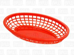 Canasta Para Hot Dog Roja DS1170 BFW