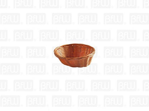 Cesta Tejida Oval Con Brillo Polipropileno DS1225 Buffetware