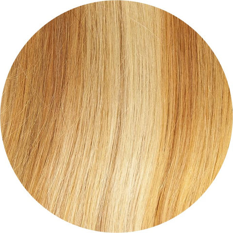 "#27/613 Medium Honey & Light Blonde  | 18"" Clip In Extensions"