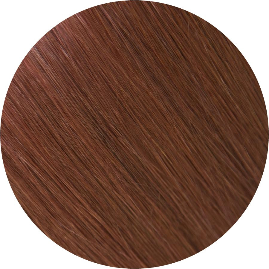 "#33 Chestnut Brown  | 18"" Clip In Extensions"