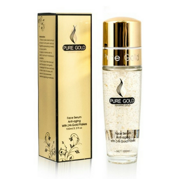 Gold Flakes Anti Aging Face Serum