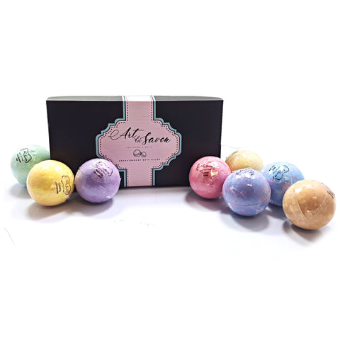 8pc Bath Bomb Set