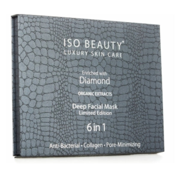 Deep Facial Mask 6pc Set | Diamond Collagen Radiance