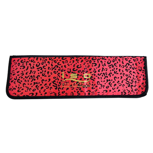 Red Leopard Heat Protective Mat | Accessory