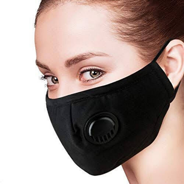 Reusable Face Mask w/Filter