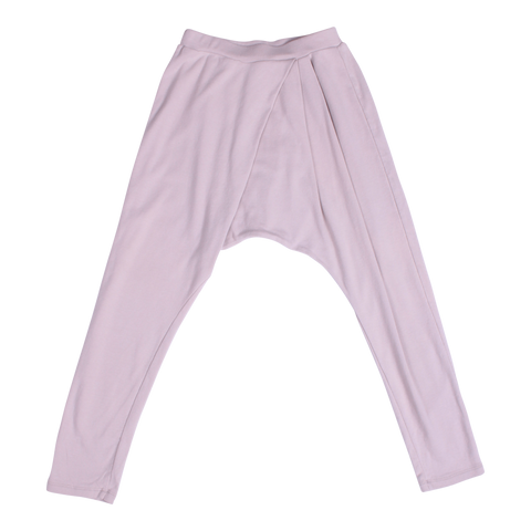 LOOSEY GOOSE PLEAT PANTS IN CLOUDY GREY