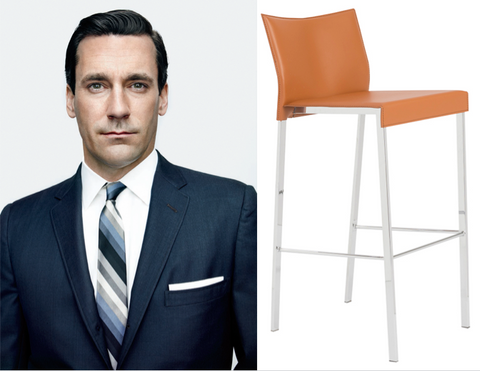 Don Draper and Riley Bar Stool
