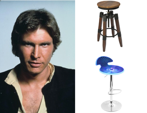 Han Solo Renfrew and Spyra Bar Stools