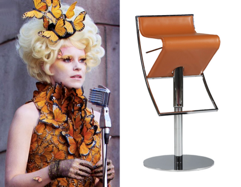 Effie Trinket Alfa Adjustable Bar Stool