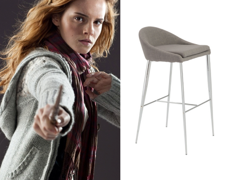 Hermoine Granger Brielle Bar Stool