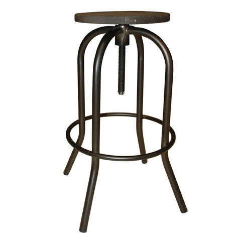 Euro Style Fabia Adjustable Bar Stool Bar Stool Boutique